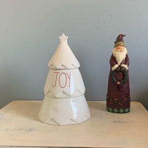 Rae Dunn JOY Tree Cookie Jar 🎄